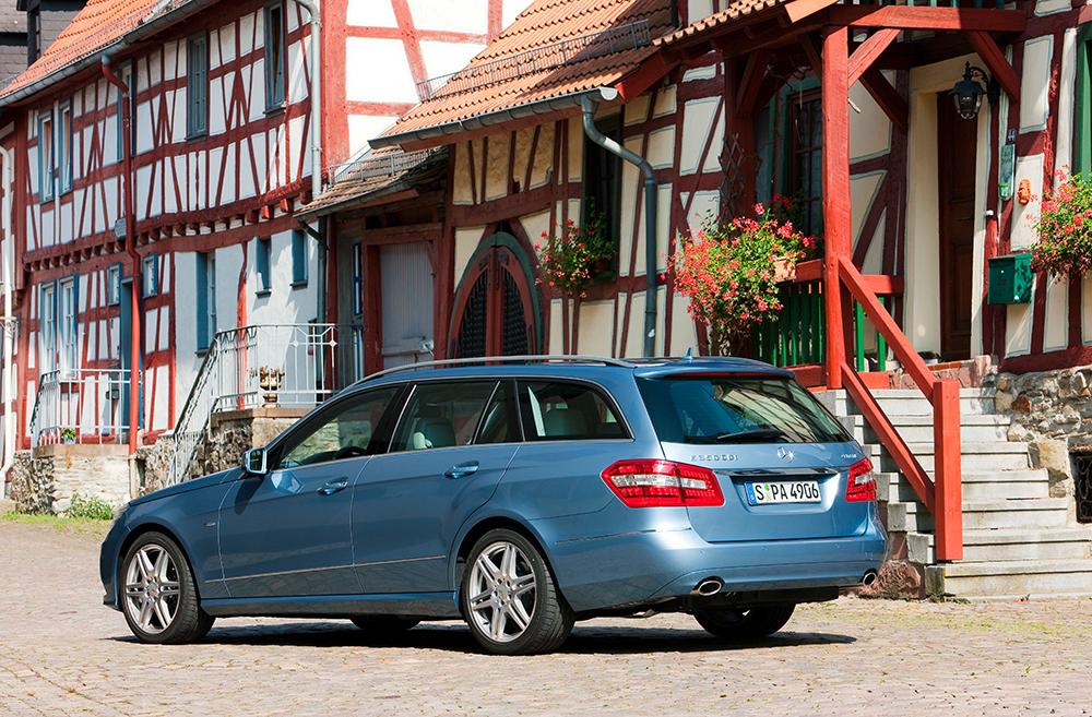Mercedes E Klasse hinten