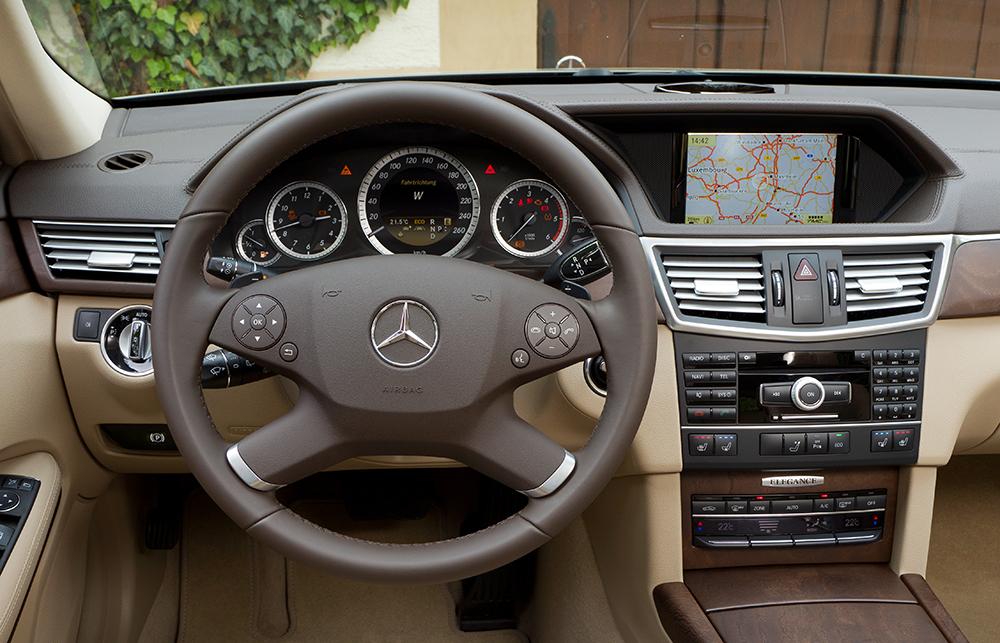 Mercedes E Klasse innen