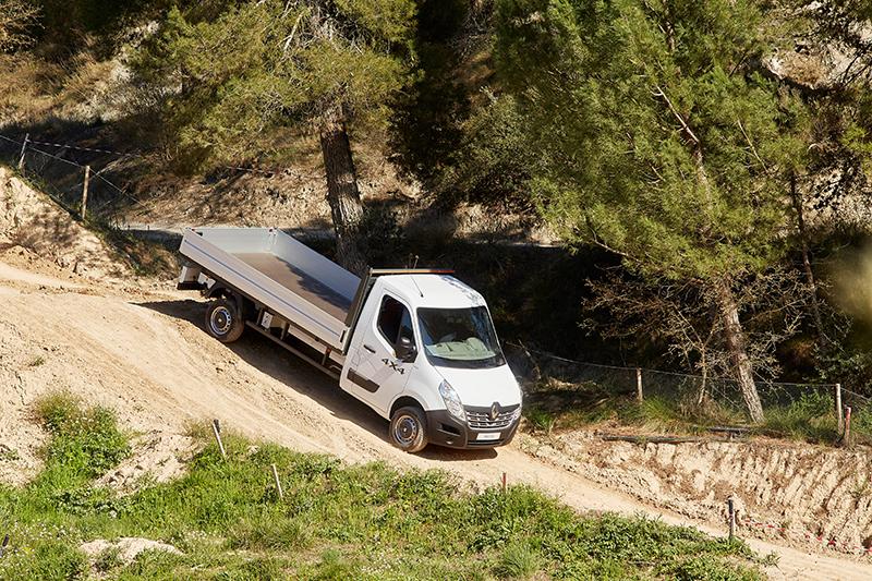 Renault Master 4X4 Pritsche