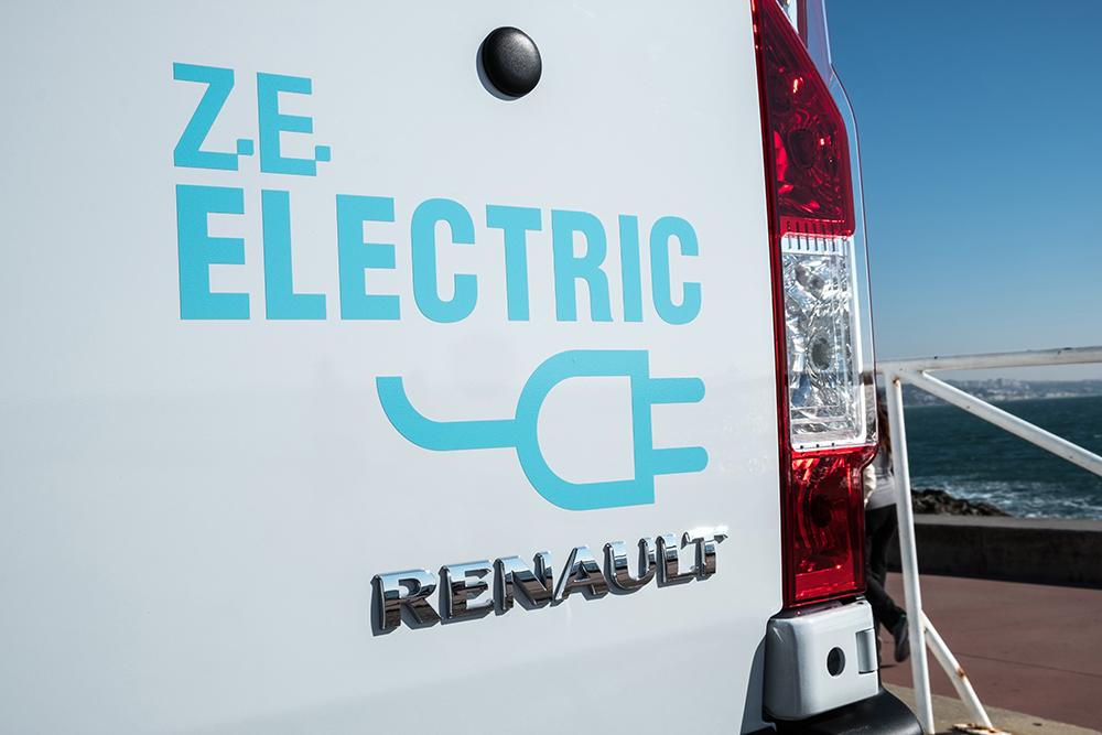 Der neue Renault Master Z.E. Foto: © Renault