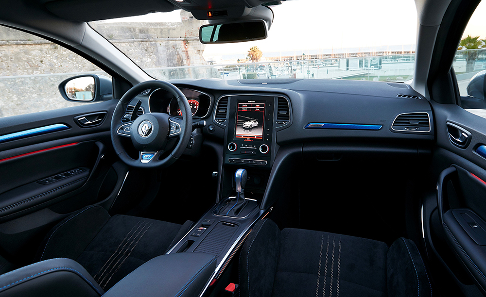Renault Megane GT innen