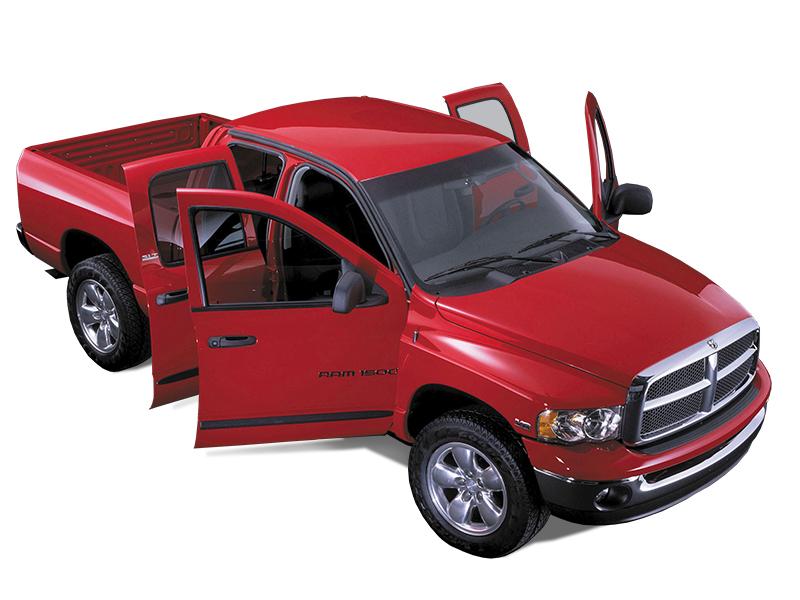 Die SUV sind heute die schärfste Konkurrenz des Pick-Ups. Hier ein 2002er Dodge RAM 1500. Foto: © Dodge