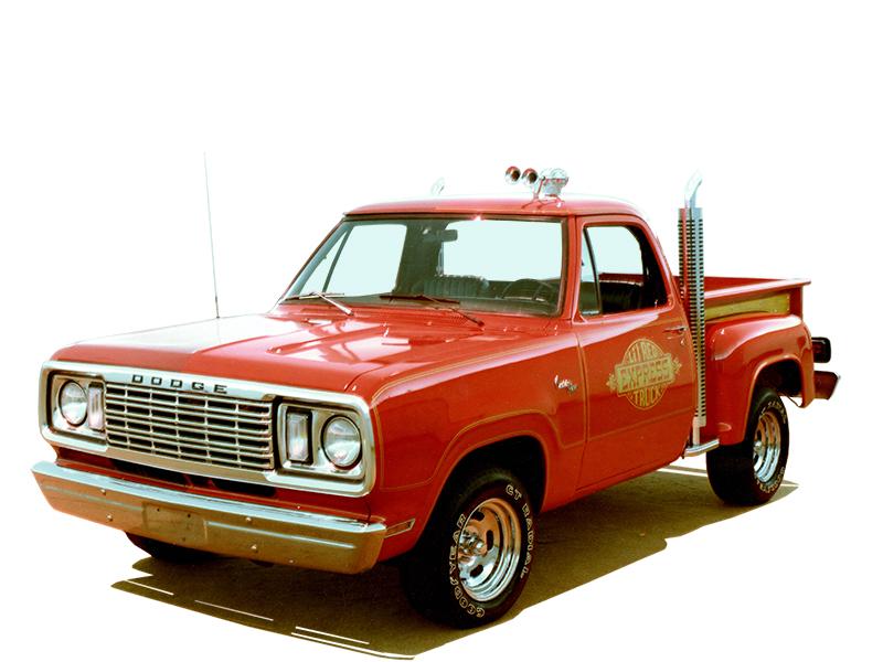 Nach dem Zweiten Weltkrieg wurde der Pick-Up plötzlich zum Lifestyle-Objekt. Hier ein Dodge aus den 1970er-Jahren. Foto: © Dodge