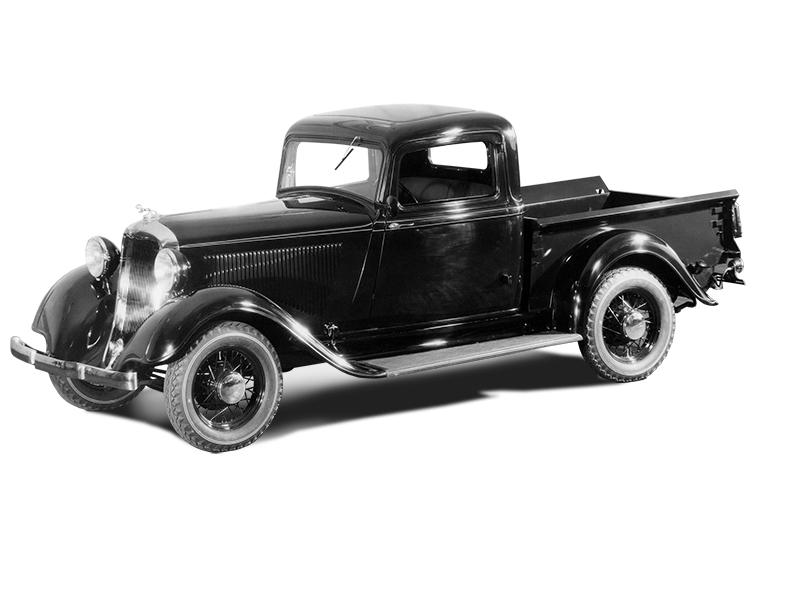 Der Dodge KC Truck von 1934. Foto: © Dodge