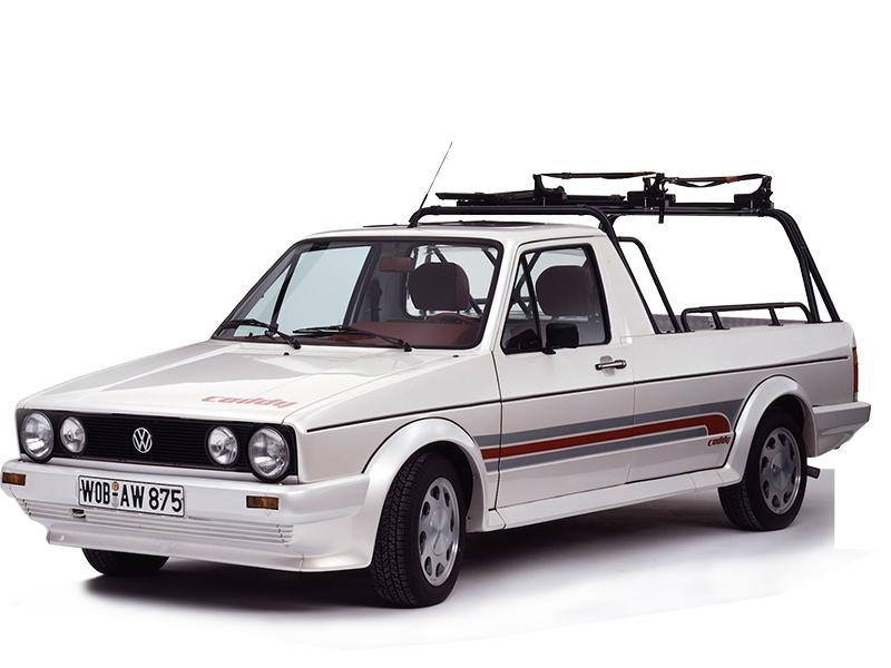 Lief nur für die USA vom Wolfsburger Band: der VW Caddy von 1987-1991. Foto: © VW