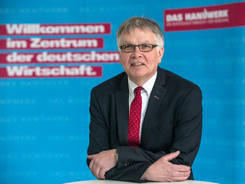 Hubert Kersting, Betriebsberater der Handwerkskammer Düsseldorf. Foto: © Hans-Jürgen Bauer