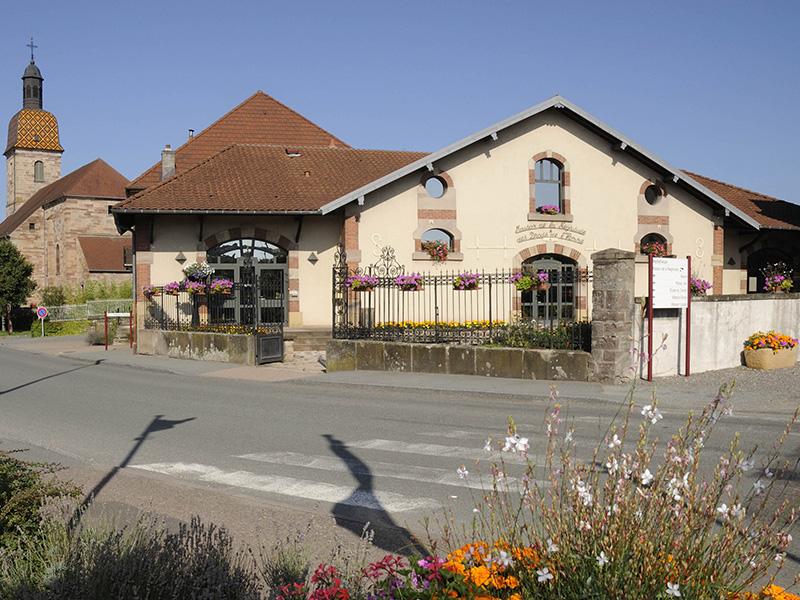 Maison de la Négritude in Champagney; Foto: © CRT Franche-Comté