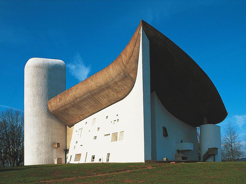 Kapelle Notre-Dame-du-Haut in Ronchamp; Foto: CRT Franche-Comté