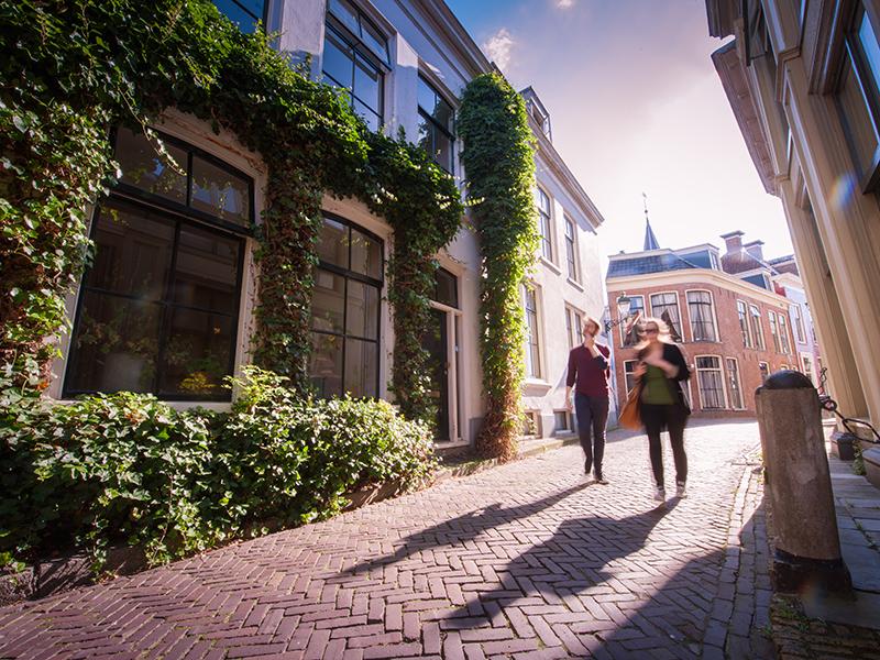 Die friesische Stadt Leeuwarden. Foto: © Theo de Witte