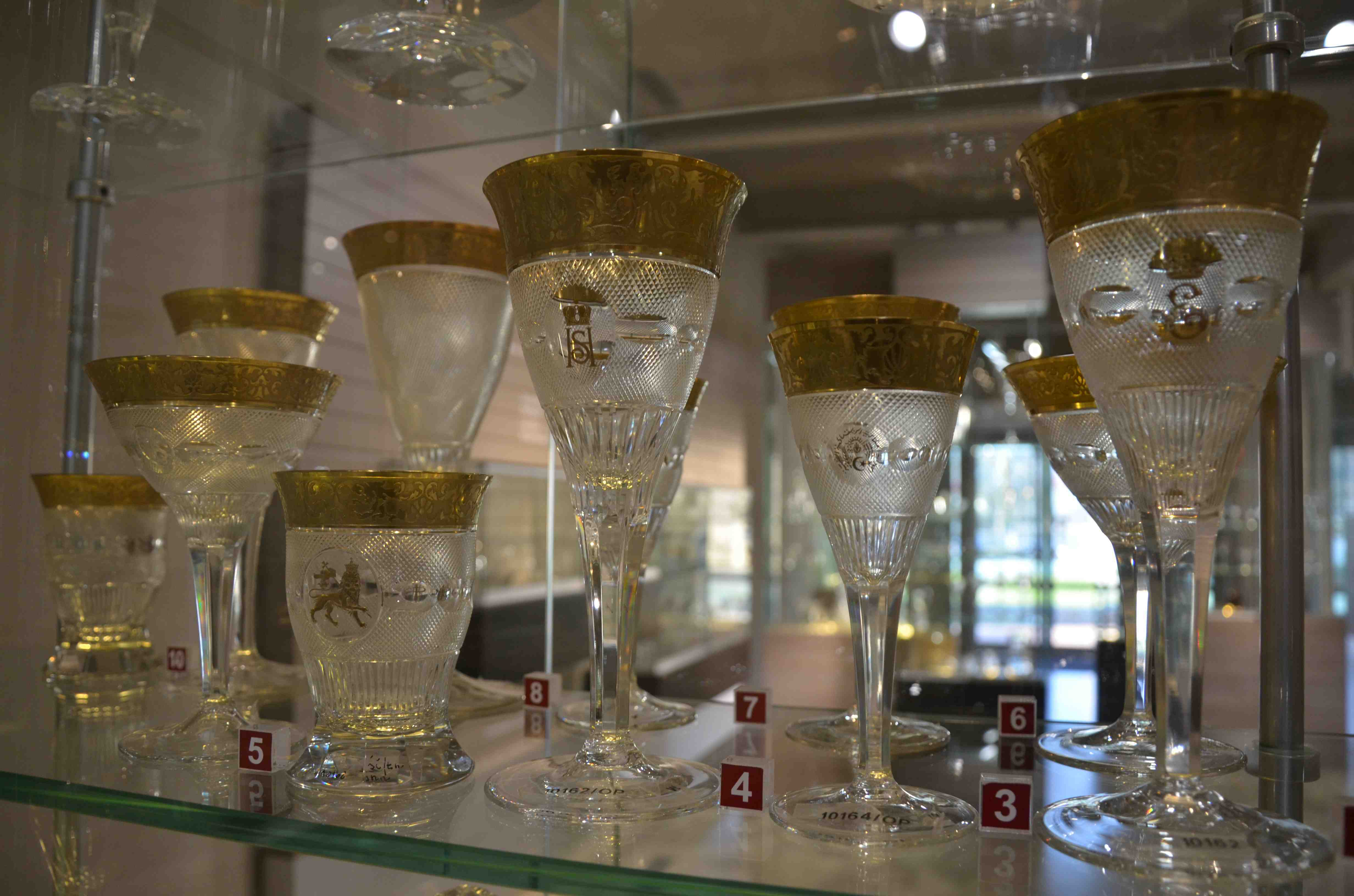 2 boehmisches glas juergen ulbrich