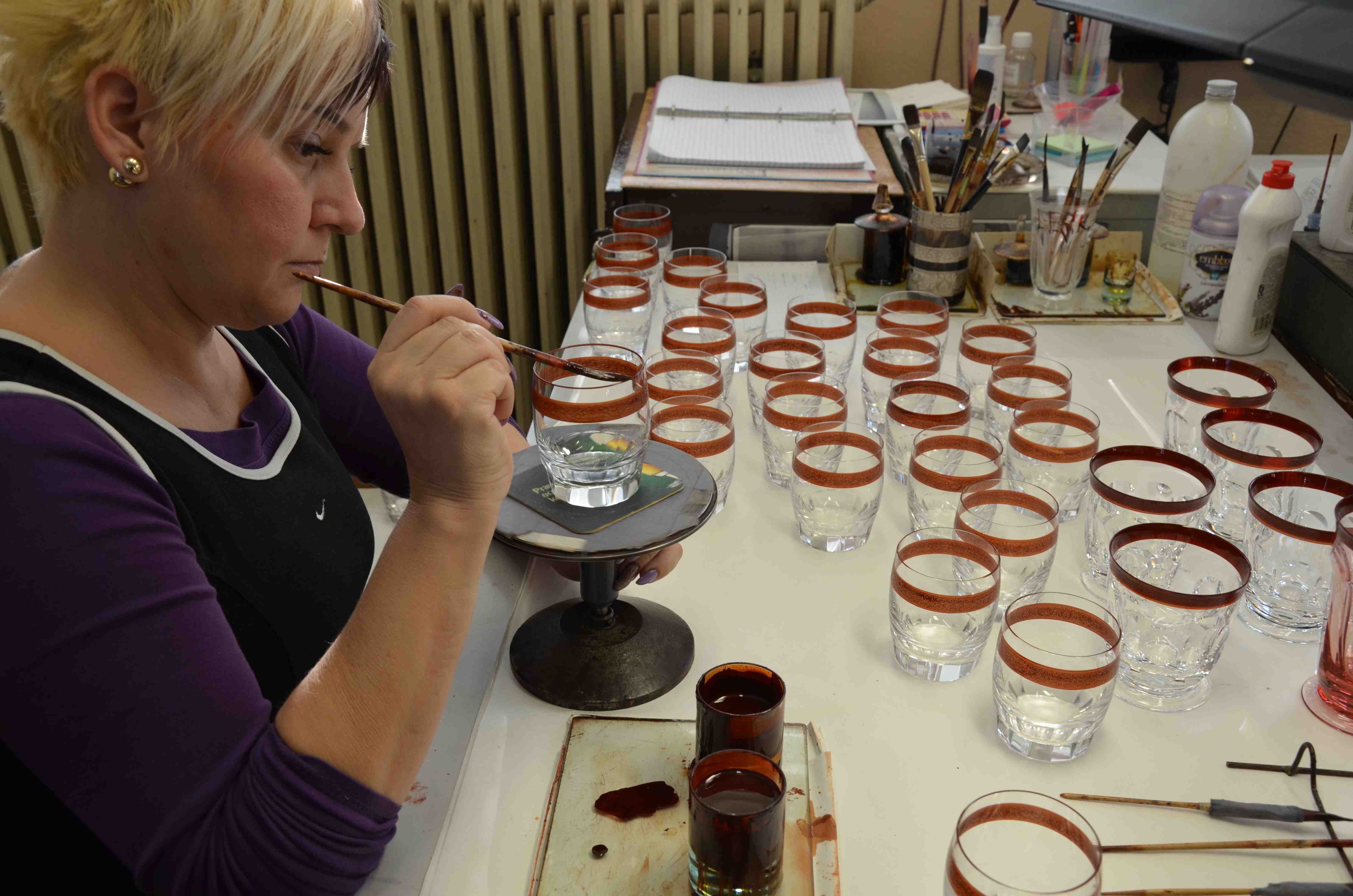 6 boehmisches glas juergen ulbrich