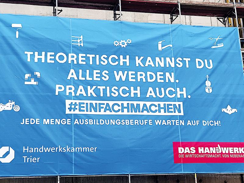 Richtfest Banner online
